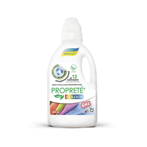 Рідкий засіб для прання Proprete Colour 300 мл