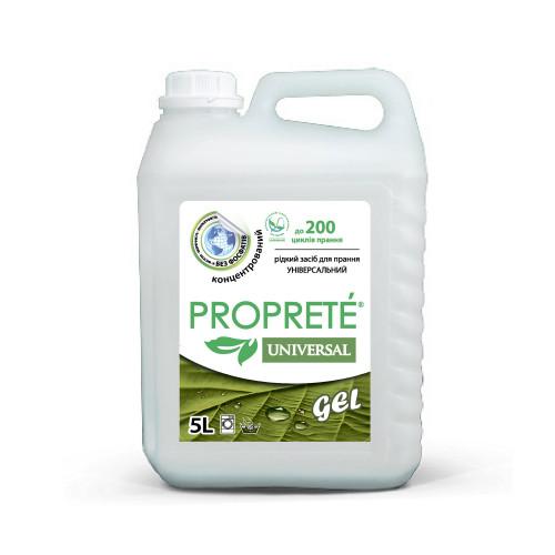 Рідкий засіб для прання Proprete Universal 5 л